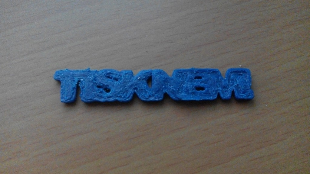 První 3D tisk